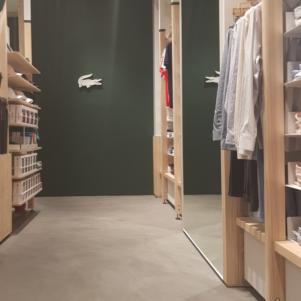 Lacoste Showroom - Korea