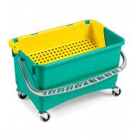 Basin for grouting washing