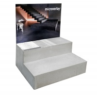 Microverlay® staircase