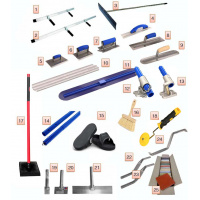 Stamped concrete Tools Kit