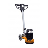 Floor grinder with adjustable head