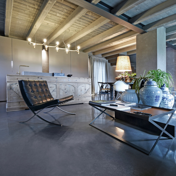 Restructuring of living of private rustic house - Breda di Piave (TV)