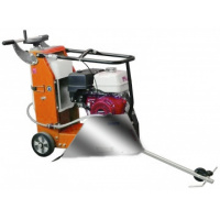 Concrete floor saw